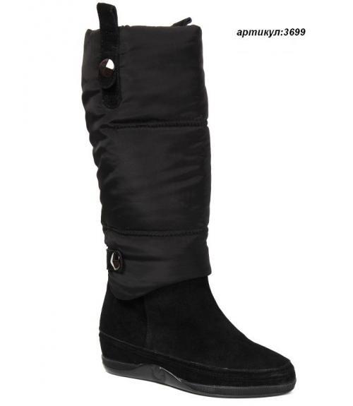 Сапоги дутыши женские, Фабрика обуви Shelly, г. Москва