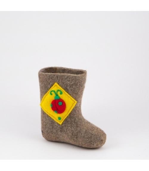 Валенки детские Букашка, Фабрика обуви Ярославская фабрика валяной обуви, г. Ярославль
