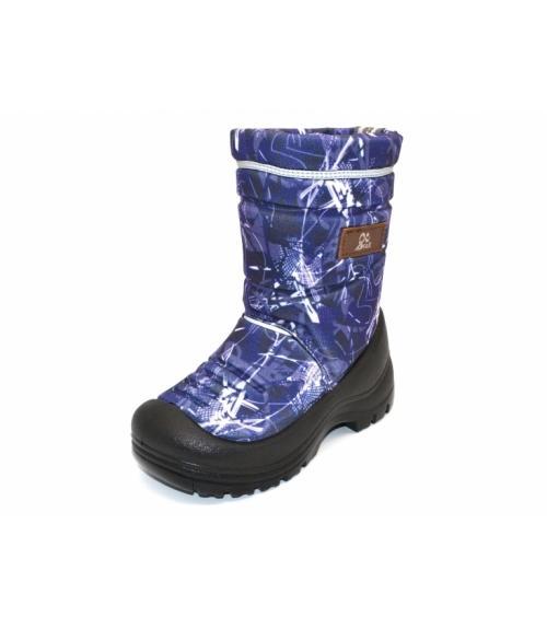 f1f89e3fc Мембранные сапоги LIBERTY синий принт., обувная фабрика EVA-SHOES ...