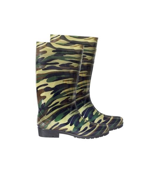 Сапоги ПВХ мужские прозрачные утепленные, Фабрика обуви Корнетто, г. Краснодар