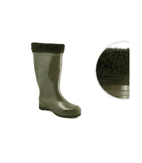 Сапоги резиновые для рыбалки и охоты, Фабрика обуви Дайлос-М, г. Москва