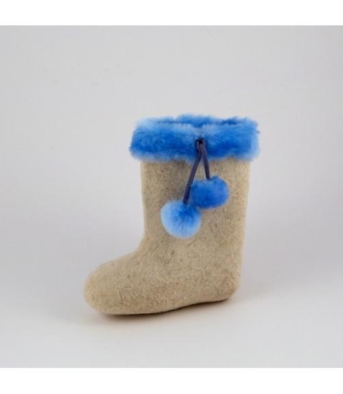 Валенки детские Контраст, Фабрика обуви Ярославская фабрика валяной обуви, г. Ярославль