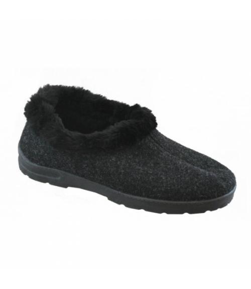 Полуботинки женские войлочные Бабуши, Фабрика обуви Light company, г. Кисловодск