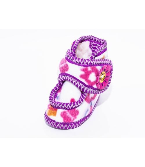 Пинетки меховые, Фабрика обуви Сандра, г. Давлеканово