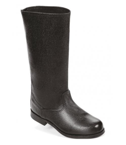 Сапоги кожаные, Фабрика обуви Вахруши-Литобувь, г. Вахруши