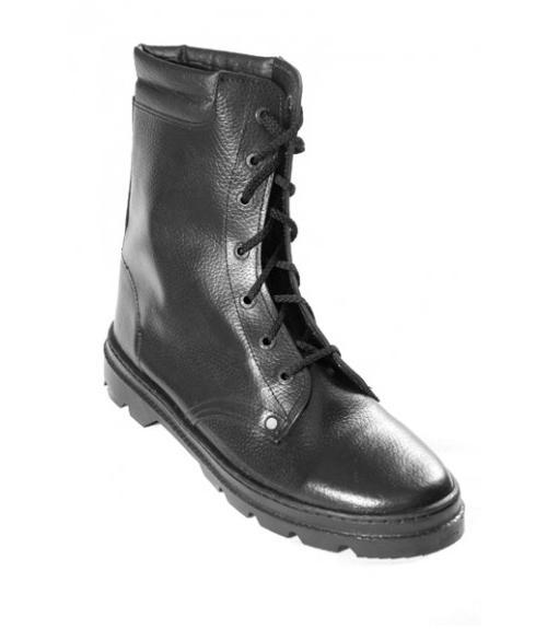 Ботинки Омон юфтевые, Фабрика обуви ОбувьСпец, г. Электрогорск