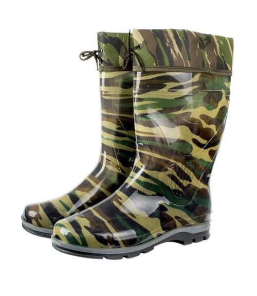 Сапоги резиновые мужские, Фабрика обуви Зарина-Юг, г. Краснодар