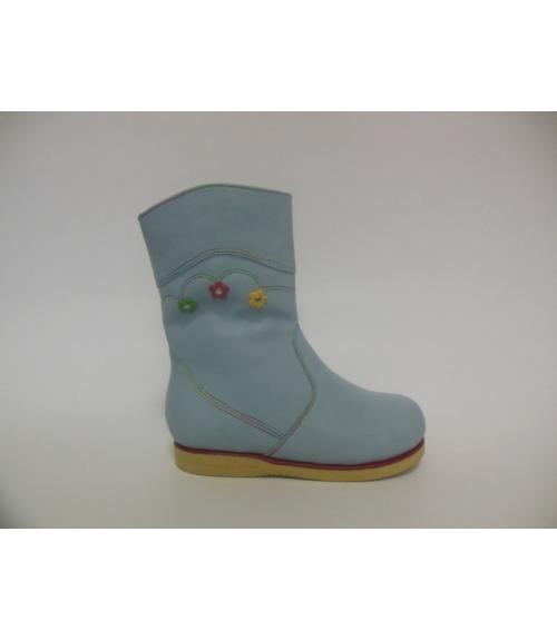 Сапоги детские для девочек, Фабрика обуви Ирон, г. Новокузнецк