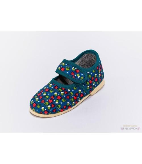 Тапочки детские на липучке, Фабрика обуви Башмачок, г. Чебоксары
