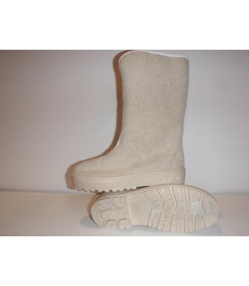 Сапоги шерстяные женские, Фабрика обуви Уют-Эко, г. Пушкино