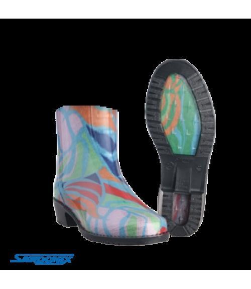 Полусапоги резиновые женские ЛЕДИ, Фабрика обуви Sardonix, г. Астрахань