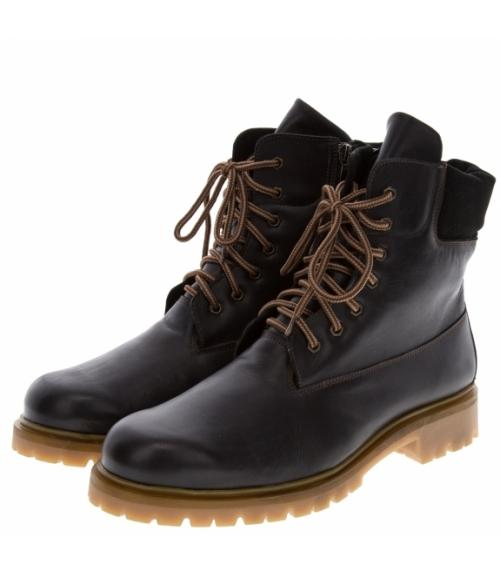 Ботинки мужские черные, Фабрика обуви Меркурий, г. Санкт-Петербург