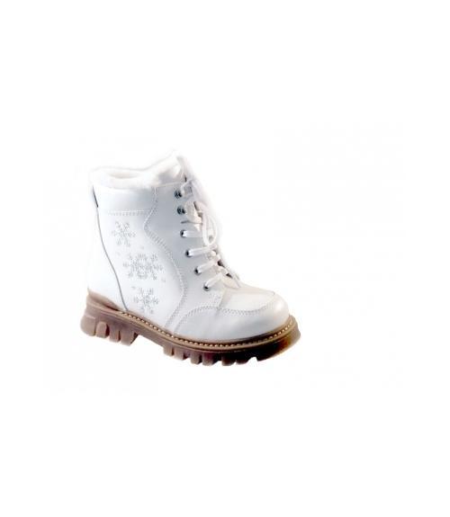 Ботинки ортопедические детские зимние, Фабрика обуви Ринтек, г. Москва