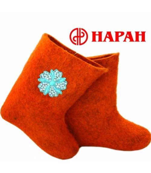 Валенки женские с аппликацией, Фабрика обуви Наран, г. Улан-Удэ