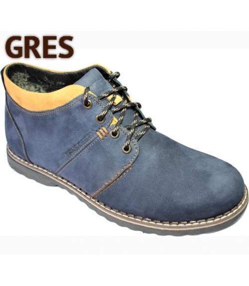 Ботинки мужские зимние, Фабрика обуви Gres, г. Махачкала