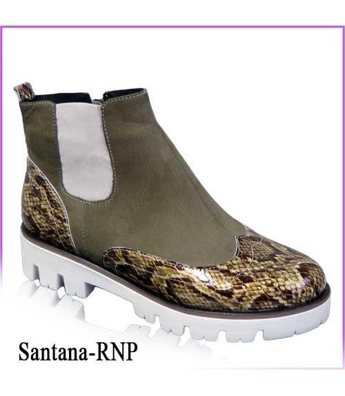 Ботинки женские Santana-RNP, Фабрика обуви TOTOlini, г. Балашов