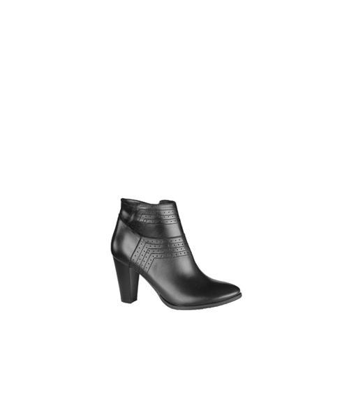Ботильоны женские, Фабрика обуви Zeta, г. Санкт-Петербург