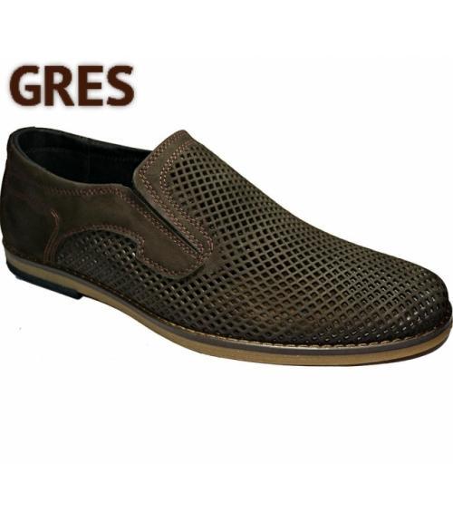 Туфли мужские с перфорацией, Фабрика обуви Gres, г. Махачкала