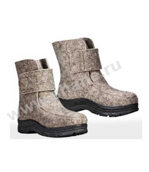 Ботинки рабочие суконные, Фабрика обуви Shane, г. Москва