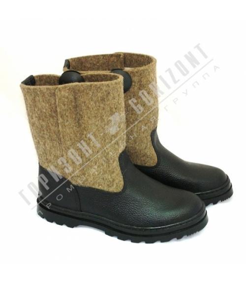 Сапоги мужские войлочные, Фабрика обуви Горизонт, г. Москва