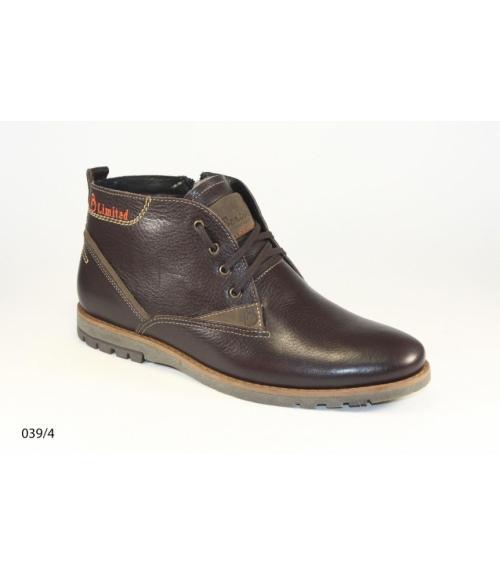 Ботинки мужские, Фабрика обуви Bertoli, г. Москва