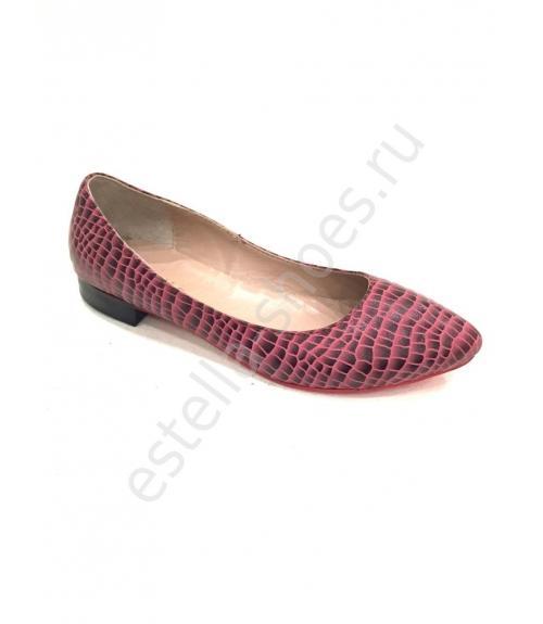 Балетки женские, Фабрика обуви Estella shoes, г. Москва
