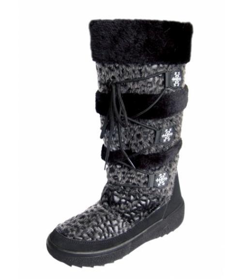 Сапоги женские дутики, Фабрика обуви Талдомская фабрика обуви Taltex, г. Талдом