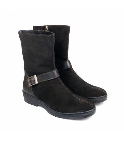Полусапоги женские черные, Фабрика обуви Меркурий, г. Санкт-Петербург
