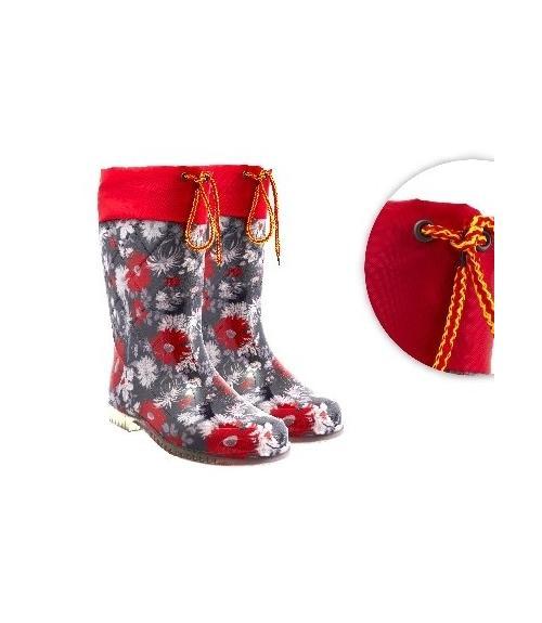 Сапоги резиновые женские, Фабрика обуви Дайлос-М, г. Москва