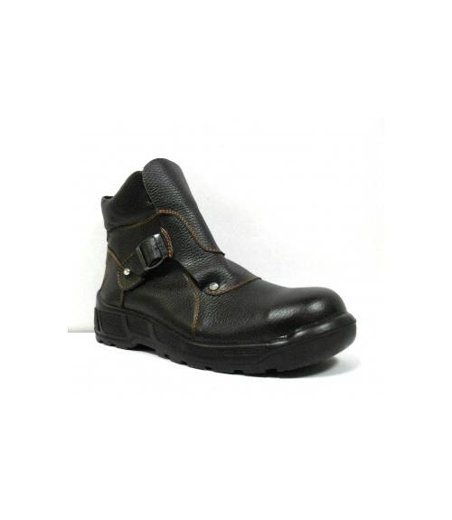 Ботинки рабочие для сварщика ПУ/нитрил, Фабрика обуви Центр Профессиональной Обуви, г. Москва