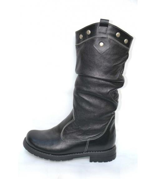 Сапоги подростковые для девочек, Фабрика обуви Kumi, г. Симферополь
