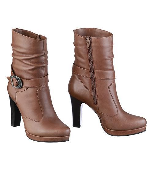 Ботинки женские, Фабрика обуви Sateg, г. Санкт-Петербург
