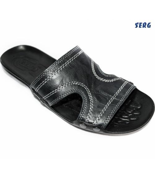 Шлепанцы мужские, Фабрика обуви Serg, г. Махачкала