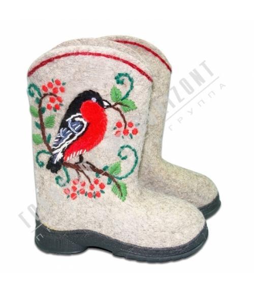 Валенки авторские , Фабрика обуви Горизонт, г. Москва