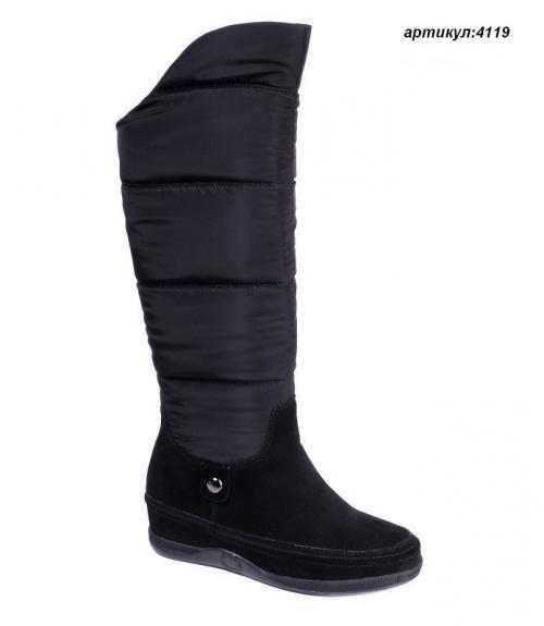 Сапоги женские дутыши, Фабрика обуви Shelly, г. Москва