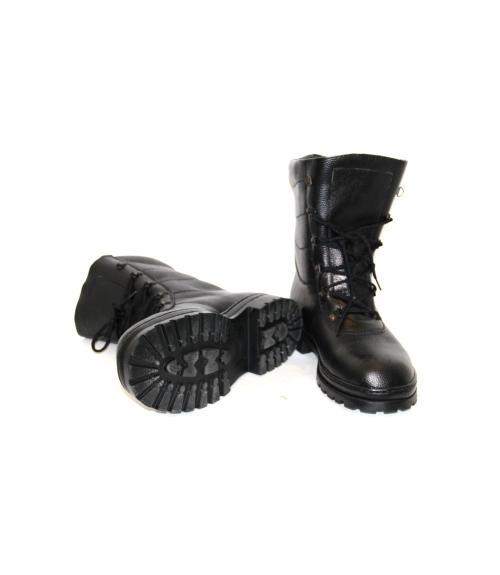 Ботинки юфтевые с высоким берцем, Фабрика обуви Восход, г. Тюмень
