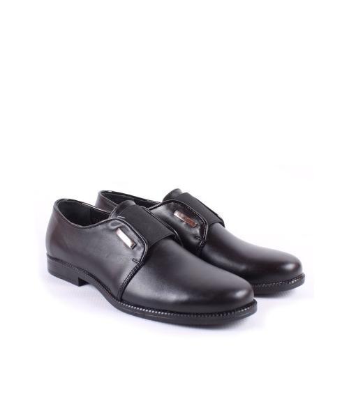 Туфли школьные для мальчика, Фабрика обуви Ronox, г. Томск