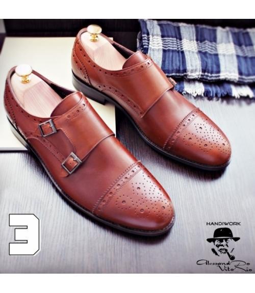 Туфли Монки «HAZELNUT», Фабрика обуви Alesandro Vitorio, г. Уфа