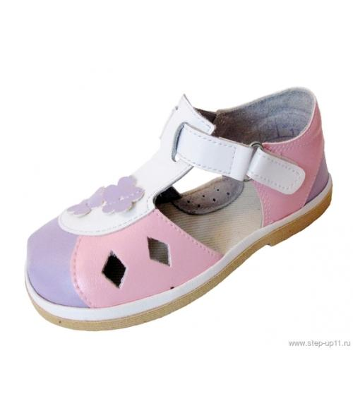 Босоножки дошкольные для девочек, Фабрика обуви Стэп-Ап, г. Давлеканово