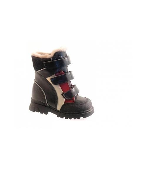 Ботинки ортопедические зимние детские, Фабрика обуви Ринтек, г. Москва