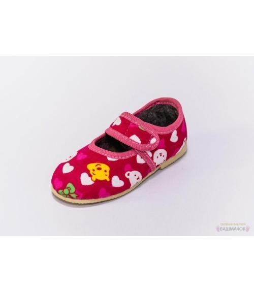 Тапочки детские на липучке, мод 107л-летние, Фабрика обуви Башмачок, г. Чебоксары