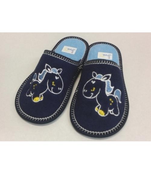 Тапочки домашние детские Рапана, Фабрика обуви Рапана, г. Москва