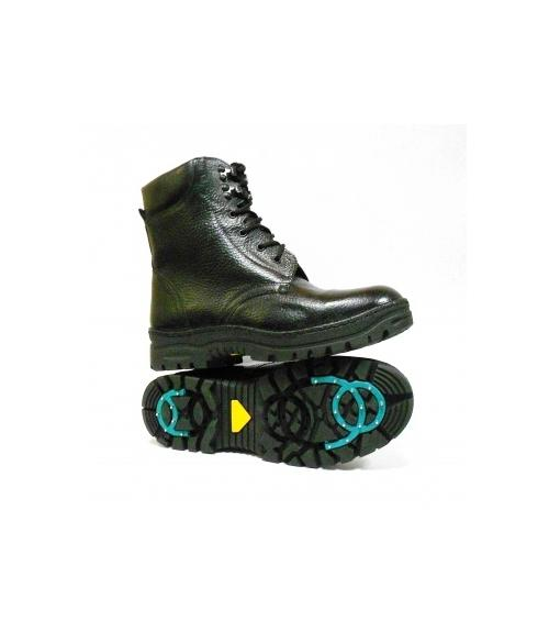 Ботинки мужские утепленные антискользящие, Фабрика обуви Центр Профессиональной Обуви, г. Москва