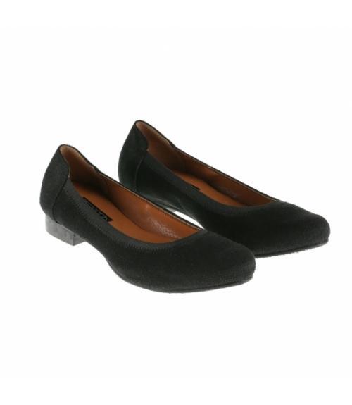 Туфли женские черные замша, Фабрика обуви Меркурий, г. Санкт-Петербург