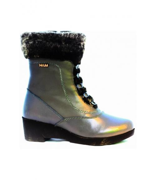 Полусапоги детские для девочек, Фабрика обуви Flois Kids, г. Москва