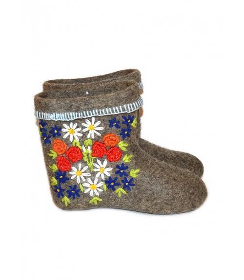 Полуваленки женские, Фабрика обуви ВаленкиОпт, г. Чебоксары