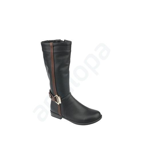 Сапоги школьные для девочек, Фабрика обуви Антилопа, г. Коломна