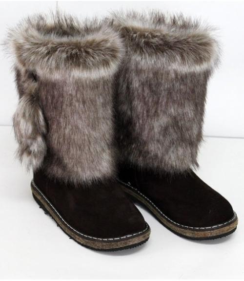 Сапоги Унты женские, Фабрика обуви Мирунт, г. Кузнецк