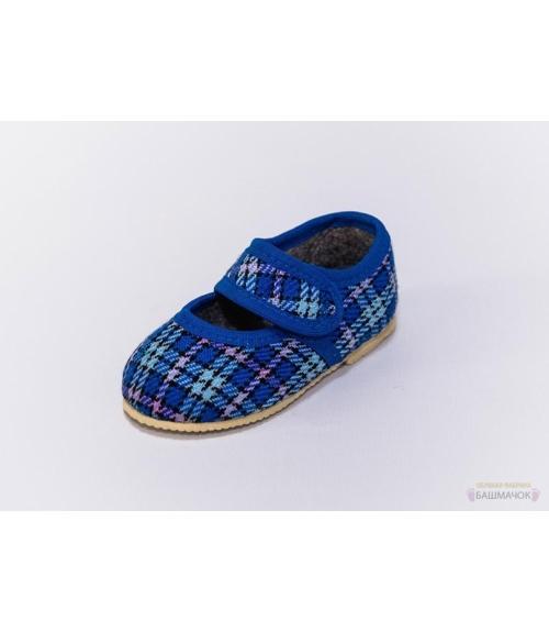 Тапочки детские на липучке,  мод. 107, Фабрика обуви Башмачок, г. Чебоксары