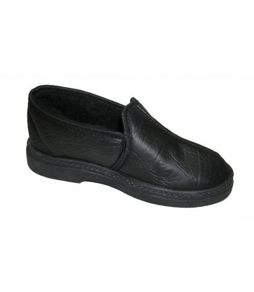 Полуботинки мужские из кожзама, Фабрика обуви Soft step, г. Пенза